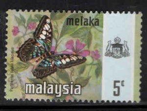Malaysia Malacca Scott 74 Used Butterfly stamp
