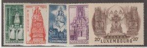 Luxembourg Scott #B121-B125 Stamps - Mint NH Set