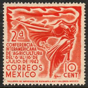 MEXICO 779, 10¢ Agricultural Conference. MINT, NH. F-VF.