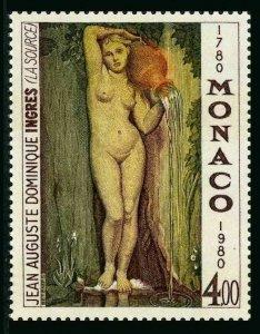 Monaco 1229,MNH.Michel 1423. The Source.Jean Auguste D.Ingres,200th birth,1980.