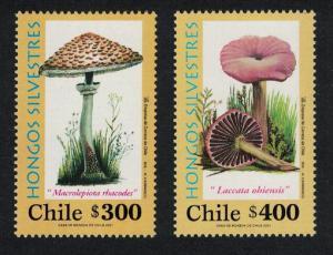 Chile Fungi 2v SG#2001-2002 MI#2024-2025 SC#1368-1369