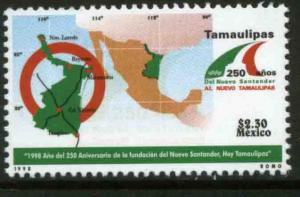 MEXICO 2099, Tamaulipas Nvo. Santander 250th Anniv. MINT, NH. VF. (69)
