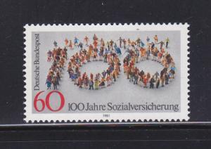 Germany 1365 Set MNH Social Insurance