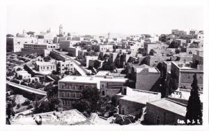 Jordan 1959 Real Photo View Card of Bethlehem mailed to USA