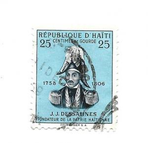Haiti 1955 - Scott #409