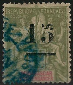 Madagascar Scott#50 Used F-VF SCV$8.75...Tough stamp to find!