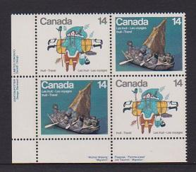 CANADA PLATE BLOCK MNH STAMPS #770a LOT#PB534