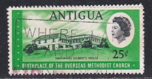 Antigua # 191, Nathaniel Gilberts House, Used