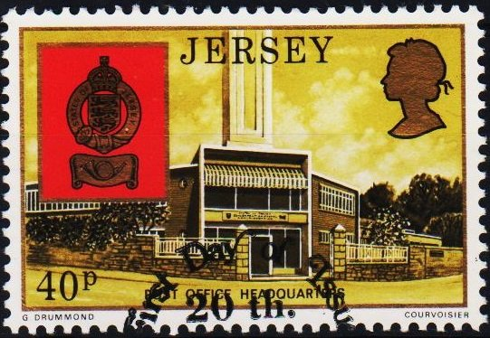 Jersey. 1976 40p S.G.152 Fine Used
