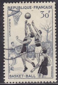 France 801 USED 1956 Basketball 30Fr