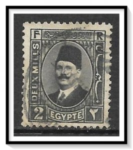 Egypt #129a King Fuad Used