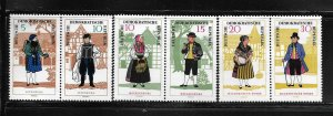 DDR,860a,862a,864a,MNH, PAIRS, COSTUME TYPE 1964