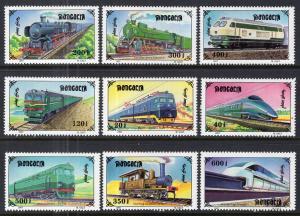 Mongolia 2255A-2255I Trains MNH VF