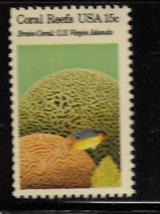 UNITED STATES, 1827,  MNH, CORAL REEFS