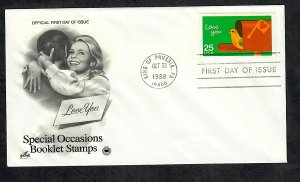 2398 Special Occasions Unaddressed ArtCraft FDC