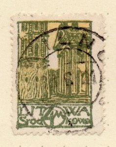 LITHUANIA 1920-22 Early Issue Fine Used 4m. NW-07174