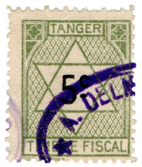 (I.B) France Colonial Revenue : Tangier Duty 5c