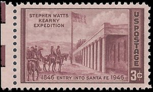 #944 3c 100th Anniversary of the Kearny Expedition 1948 Mint NH