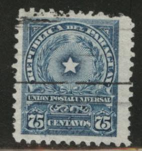 Paraguay Scott 215 used