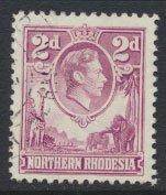 Northern Rhodesia SG33  used