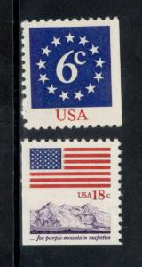1892-1893 Flag And Anthem Issue US Set Mint/nh Free shipping  (A336)