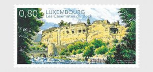 2019 LUXEMBOURG -  CASEMATES  - UNMOUNTED MINT SET