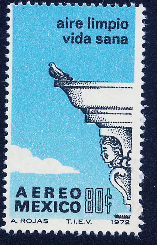 MEXICO C412 Anti-Pollution Campaign MNH