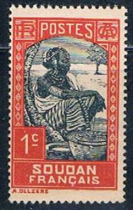 Sudan French 61 MLH Sudanese Woman 1931 (S0843)+