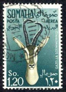 Somalia Sc# C44 Used 1955 1.20s Air Post