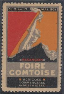 FRANCE CINDERELLA 1928 CHAMPAGNE FAIR IN TROYES MNH VF