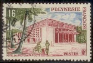 French Polynesia 1960 SC# 195 Used L59