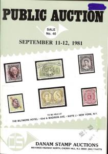 Danam: Sale # 40  -  United States Stampless Covers, U.S....