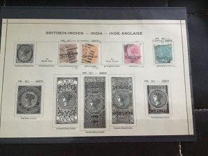 British India 1865  stamps R29951