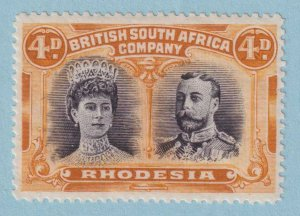 RHODESIA 106a SG 139  MINT HINGED OG * NO FAULTS EXTRA FINE!