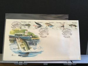 Transkei Fly Fishing 1982   stamps cover R31103