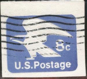 US Envelope cut square Scott U557