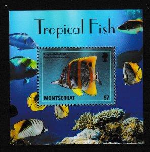 Montserrat - FISH - S.S. - MNH