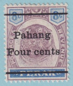 PAHANG 25 MINT HINGED OG  *  NO FAULTS EXTRA FINE!
