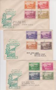 Norfolk Islands Scott 1-12 Typewritten Address.