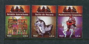 Peru 1689-1691, MNH, Folk 2009. x27046