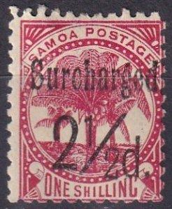 Samoa #26a  Unused  CV $13.00  (Z6935)