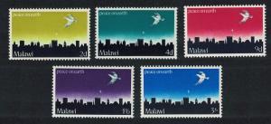 Malawi Dove over Bethlehem Christmas 5v SG#339-343