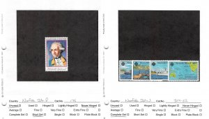 Lot of 52 Norfolk Island MNH Mint Never Hinged Stamps #145830 X R