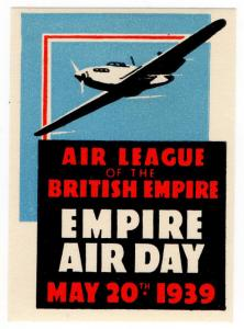 (I.B) Cinderella Collection : Empire Air Day (1939)