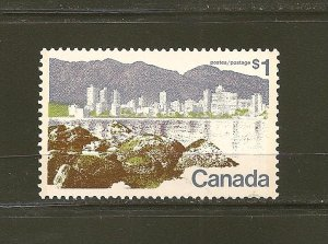 Canada 599 $1.00 Vancouver BC MNH