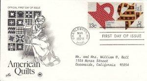 1978, American Quilts, Artcraft/PCS, FDC (E8736)