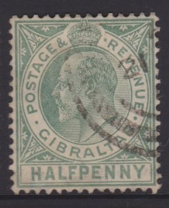 Gibraltar Sc#49A Used