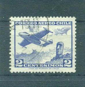 Chile sc# C236 used cat value $.25