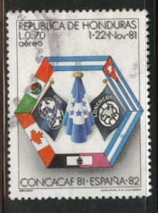 Honduras  Scott C705 Used  airmail stamp