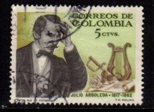 Columbia - #754 Julio Arboleda  - Used